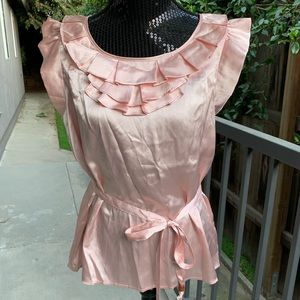 Sweet blush flutter front shell